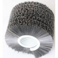 China Spring brush industrial abrasive nylon sprial brush rollers on sale