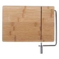 Cheap Cheap Bamboo Wooden Cheese Board With Slicer Wire for sale