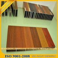 Best Wood Grain Aluminium Extrusion Profile for Furnitures Decoration wholesale