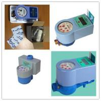 Smart Prepaid Electronic Water Meter With IC Card Contactless For Measuring Meter Volume