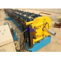 China Rain Downspout Roll Forming Machine 5.5Kw 1.2 Inch Chain Drive 6.5 1 1.2 M on sale