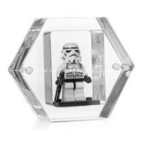 Buy cheap Unique Clear Mini Figure Display Case Cube from wholesalers