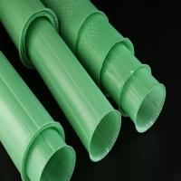 Best PP Corrugated Plastic Plant Guards Green Color UV Resistant 60cm Length wholesale