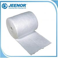 China SPO Oil Only Absorbent Mat Roll Plain Oil Absorbent Roll on sale