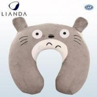 Best Custom U Shaped Travel Neck Pillow For Air Traveling , Animal Neck Support Pillow wholesale