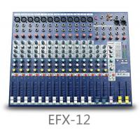 Professional EFX12 12 Channel Microphone Sound Mixer Mixing Console Processor