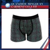 China china all-over print organic cotton men's boxer briefs wholesale on sale