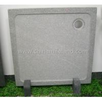 Buy cheap Light Grey Granite Shower Base with Anti-Slip Finish from wholesalers