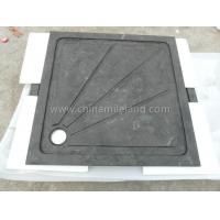 Buy cheap Neo Color Square Limestone Shower Tray with Water Backflow Lines from wholesalers