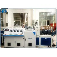 China High Output PVC Pipe Extrusion Machine Production Line Double Screw 80kg/h on sale