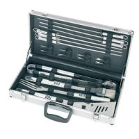 China 18pcs BBQ set in a Alu. case on sale