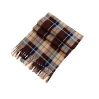 Buy cheap Child's British Grid Printed Polar Fleece Long Warm Scarf Available for Spring and Winter from wholesalers