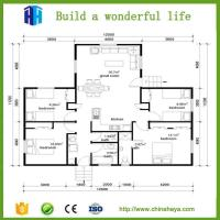 China Superior quality modern steel frame modular home plans on sale