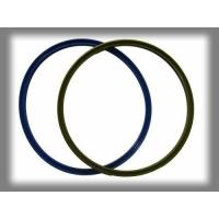 Odourless Silicone Rubber Rings , Multi Color Silicone O Ring Molded Gasket