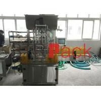 Accurate Piston Filling Machine with 4 filling heads , lotion filling machine
