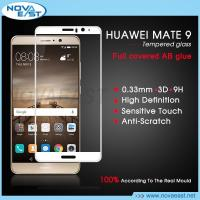 China Premium 9H 3D FULL COVER full AB glue Tempered Glass Screen Protector For HUAWEI MATE 9 on sale