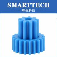 Best Double Gears High Precision Gears Of Plastic Gear Moulding In Blue Color wholesale