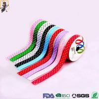 Best HAOXIE brand yiwu wholesale custom grosgrain satin sari silk ribbon bow wholesale
