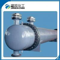 China Spiral Baffle Floating Head Aluminized Steel Tube Water Cooling Heat Exchangers on sale