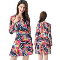 Buy cheap Street Stylish Floral Printed Summer Dress Zara Knee Lenght from wholesalers