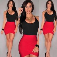 Buy cheap 2017 Fashion Summer Casual Bodycon Mini Dress from wholesalers