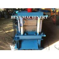 Best Hydraulic Punching Shutter Door Frame roll forming machine Gear Box or Chain Type wholesale