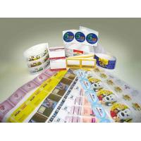 China household products label adhesive sticker on sale