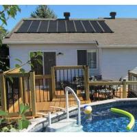 Buy cheap 6-2X12' SunQuest Solar Swimming Pool Heater Complete System with Roof Kits from wholesalers