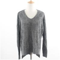 China B&T 9913 V Neck Oversize pullover sweater on sale