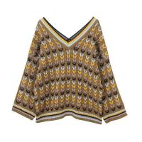 Buy cheap B&T 9702 Deep V-Neck pullover sweater from wholesalers