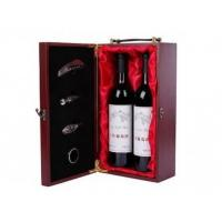 China Two Bottle Rosewood Wine Boxes with Tools on sale