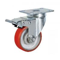 China Kaiston Caster Manufactured Medium Duty Industrial Castor Wheels on sale
