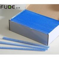 Buy cheap Environmental-Friendly 6mm - 50mm PVC Plastic Single Spiral Coil for Notebooks Binding from wholesalers