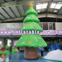 China Colorful Inflatable Christmas Tree / Outdoor Christmas Inflatable Yard Decorations on sale