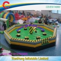 7m/8m Diameter Inflatable Wipe Out Sport Game/melt Down Game/inflatable Obstacle Course