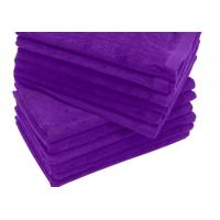 China 11x18-PURPLE Fingertip towels 100% cotton on sale