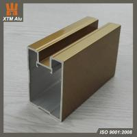 Buy cheap Aluminium Extrusion Wardrobe Door Profile for Bedroom Furniture from wholesalers