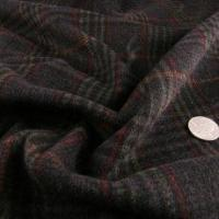 Alexander Henry Black, Red and Green Wool Coating