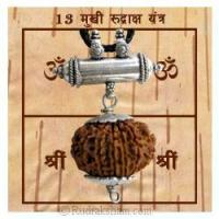China 13 Mukhi Rudraksha Yantra Kavach - Fine on sale