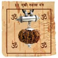 China 11 Mukhi Rudraksha Yantra Kavach - Fine on sale