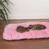 Best Dog toys Cloud Cushions Ultra Soft Comfortable Dog Bed with Non-Skid Bottom - Pink wholesale