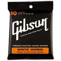 China Gibson Brite Wires Electric Guitar Strings, Light 10-46 by Gibson Gear on sale