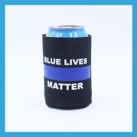 China Printed Polyester Lanyards Neoprene Printed Can Cooler for Activity on sale