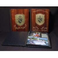 Best Wedding Gifts Anniversary Gift Wedding Photo Albums  Personalized Wedding Album in Wood / Leather wholesale
