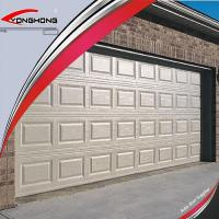 Best Modern Steel Double Overhead Sectional Garage Door with Door wholesale