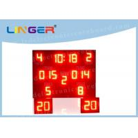 Buy cheap Indoor Outdoor LED Basketball Scoreboard , Basketball Countdown Timer Waterproof product