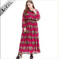 Buy cheap Women Long Sleeve Tall Maxi Dresses Plus Size from wholesalers