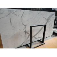 China Italian Calacatta Nature Marble Slab Countertop For Kitchen Bar OEM / ODM Avaliable on sale