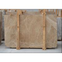 Buy cheap Light Cream Engineered Stone Countertop , Polished Marble Tile Kitchen Countertops from wholesalers