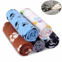 China Comsmart Warm Paw Print Blanket/Bed Cover for Dogs and Cats, 5 Pack of 24x28 Inches on sale